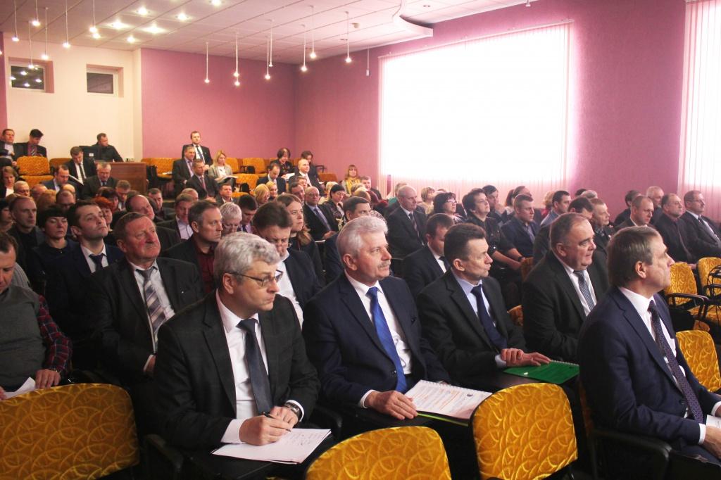 Конференция трудового коллектива РУП «Могилевэнерго»